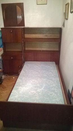 Estúdio /cama / quarto solteiro em madeira - vintage