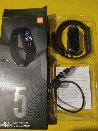 Смарт часы Xiaomi M5 смарт браслет фитнес трекер шагомер НОВЫЕ