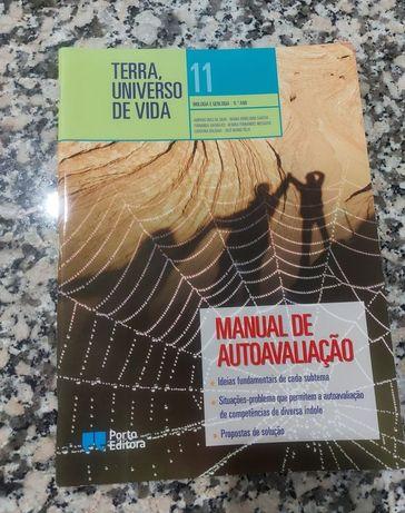 """Caderno de atividades """"Terra, Universo de vida"""" 11ano"""