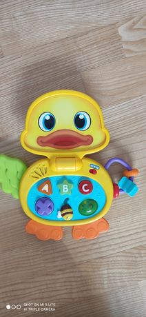 Kaczuszka interaktywna, zabawka edukacyjna