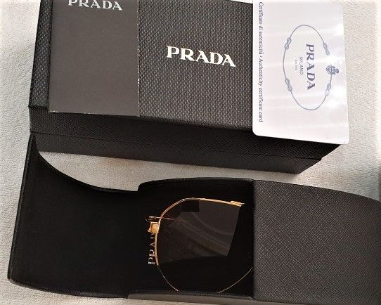 Солнцезащитные очки авиаторы Prada оригинал