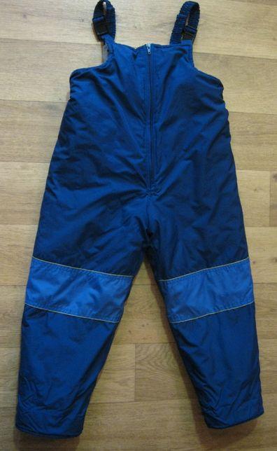 полукомбинезон штаны теплый на 3-5 лет