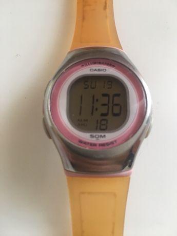 Zegarek mlodzieżowy CASIO damski, dzieciecy wodoodporny