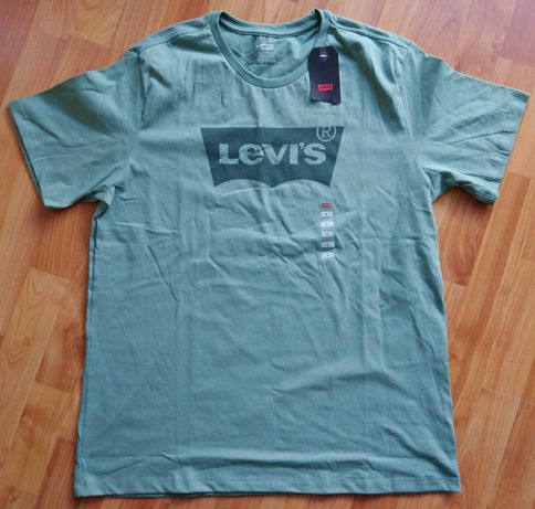 LEVIS t-shirt zielony rozmiar L nowy z metką - z USA
