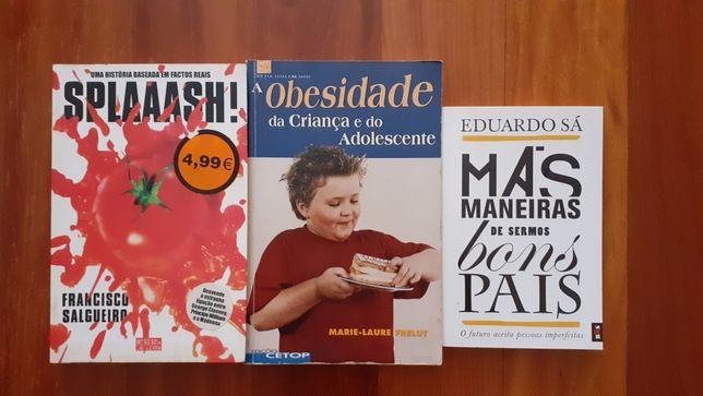 Livros 3€ cada