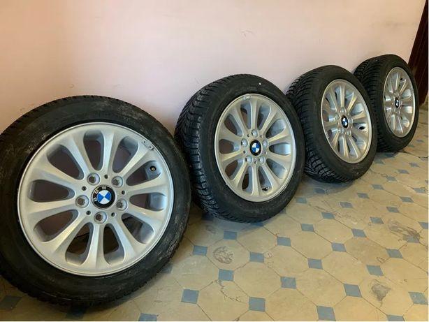 """ORYGINALNE Nowe Alufelgi 16"""" BMW STYLING 139 5x120 Nowe Opony Goodyear"""