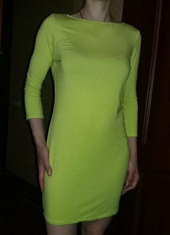 Сочное яркое платье TopShop, наш прибл. 46-48
