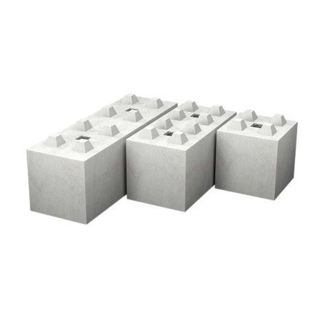 Blok betonowy typ 60 / bloki betonowe / mury oporowe / ściana / zasiek