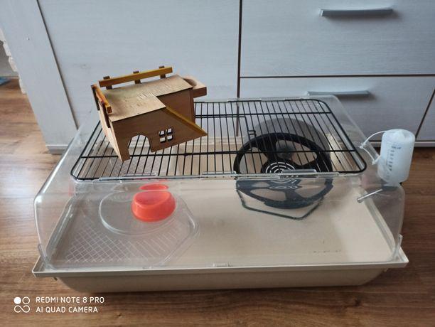 Klatka dla chomika, myszki + kołowrotek TRIXIE