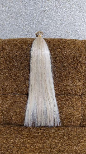 Натуральные волосы 100 грамм 58 см для наращивания