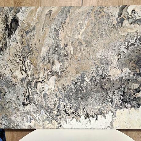 Abstrakcja obraz akrylowy
