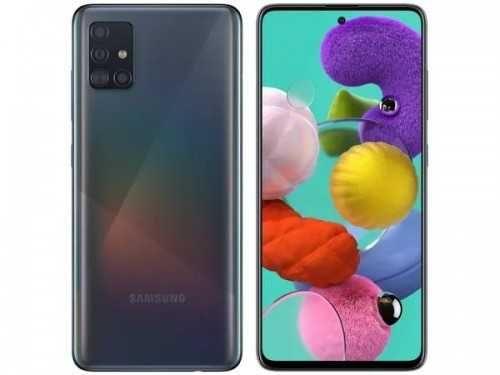 Smartfon SAMSUNG Galaxy A51 4/128 GB DS Czarny