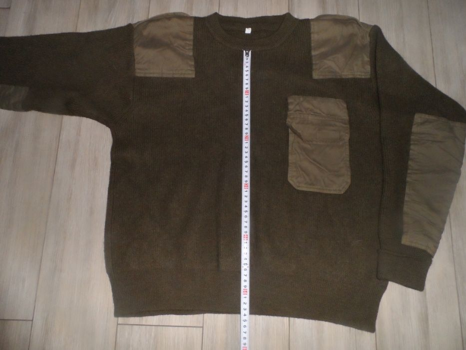 Вовняний армійський светр, Олива - Бундесвер, 52 р Хмельницкий - изображение 1