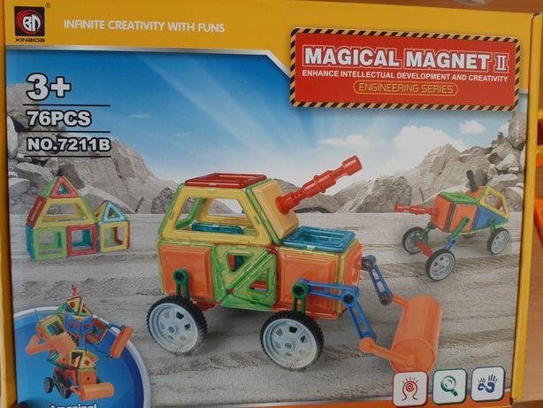 Продам магнитный конструктор-экскаватор.