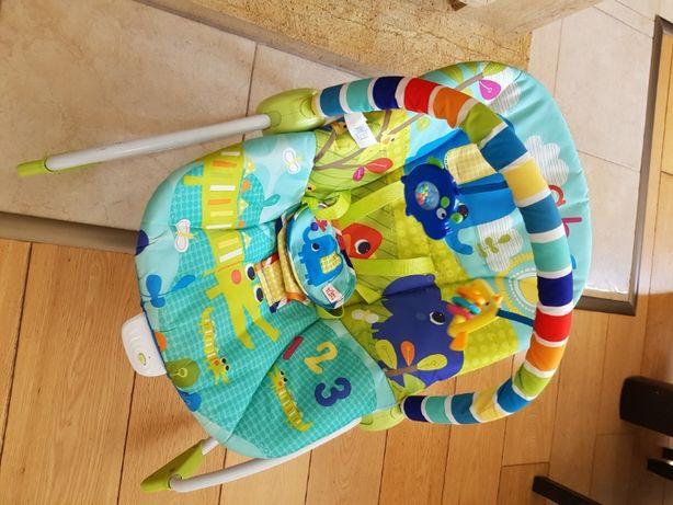 Bujaczek leżaczek wibrujące krzesełeczko dla maluszka Mothercare