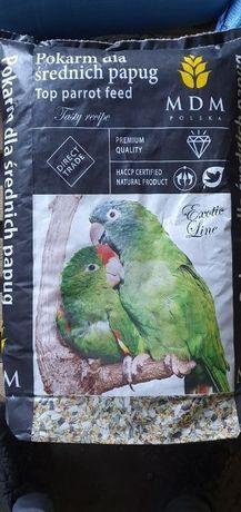 Karma pokarm dla papug małych średnich dużych kanarków i nierozłączek