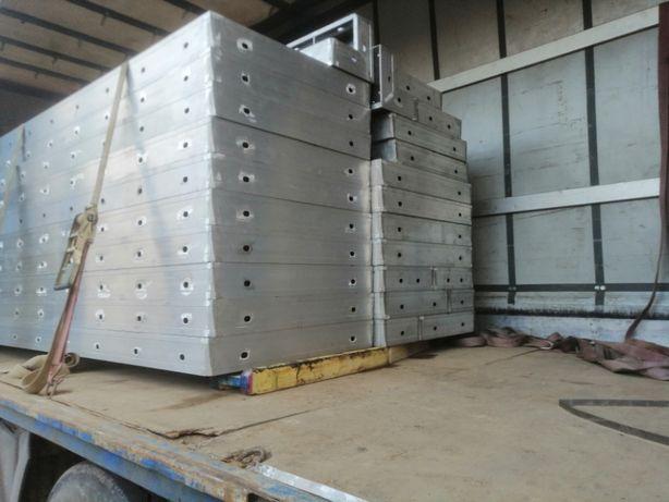 Szalunki aluminiowe Rasto Nowe zestaw 49m2 szalunki ścienne