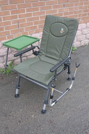Кресло Elektrostatyk F5R ST/P карповое складное с обвесом и столиком