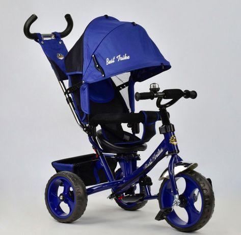 Гарантия! Трёхколёсный велосипед детский + Регулировка Сиденья