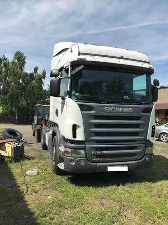 Scania r380 euro 5 AdBlue  manual