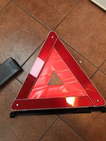 Oryginalny trójkąt ostrzegawczy peugeot.