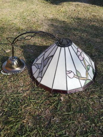 Lampa witrażowa wisząca TIFFANY