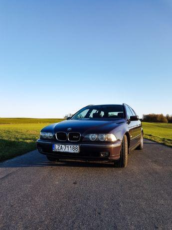 BMW e39 Touring Fioletowy środek/Zamiana