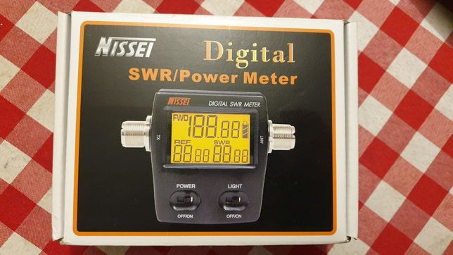 Miernik NISSEI RS-50 SWR power