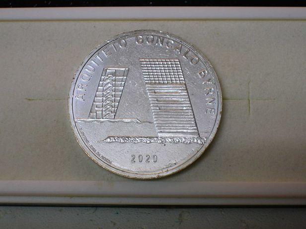 Moeda 7,50 euros - Arq. Gonçalo Byrne / 2020 / PRATA