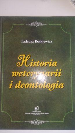 Historia weterynarii i deontologia