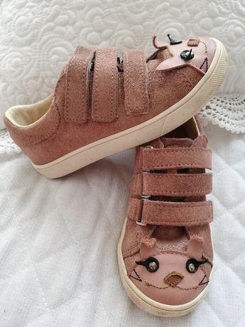Buty Mrugała Maki Bunny królik różowe błyszczące rozm.28, 18cm wkladki