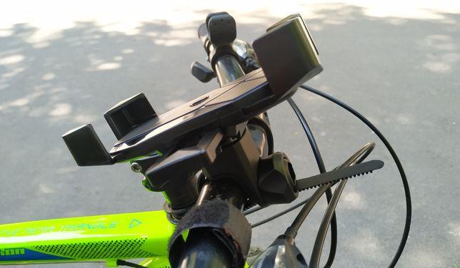 Мотодержатель велодержатель держатель для скутера самоката Hoco ca58