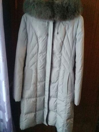 Пуховое пальто женское, пуховик