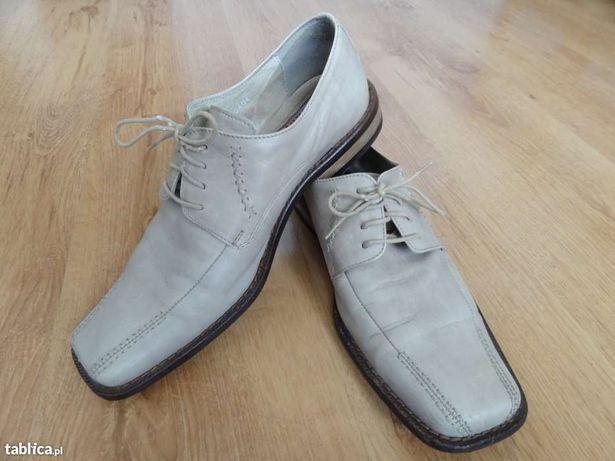 Buty skórzane Conhpol jak nowe.