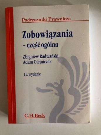 Zobowiązania- część ogólna Radwański, Oleniczak