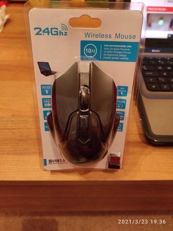 Mysz optyczna bezprzewodowa 2.4 GHz gamingowa