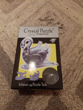 3D Crystal Puzzle Swan