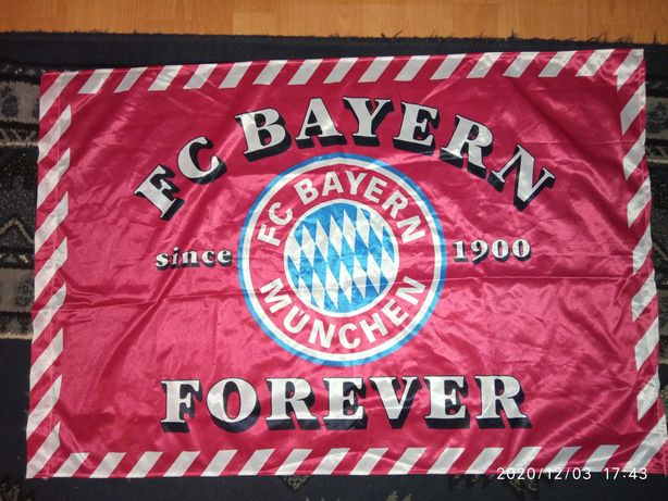Flaga Bayern Monachium oldschool