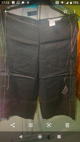 Lniane spodnie MaxMara