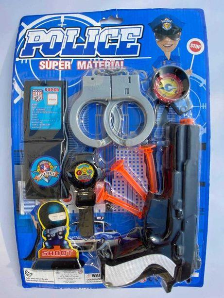 Детский набор полицейского для мальчика