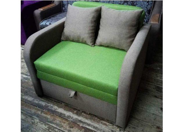 Дитячий диван крісло Хакі 70