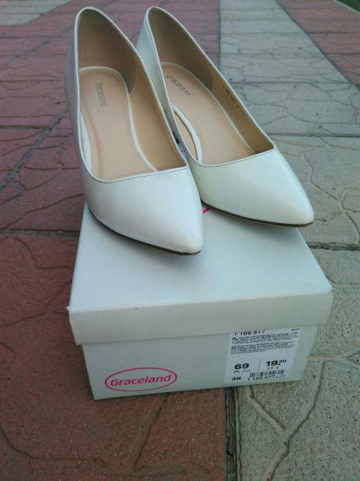 Buty ślubne białe Prochowice - image 1