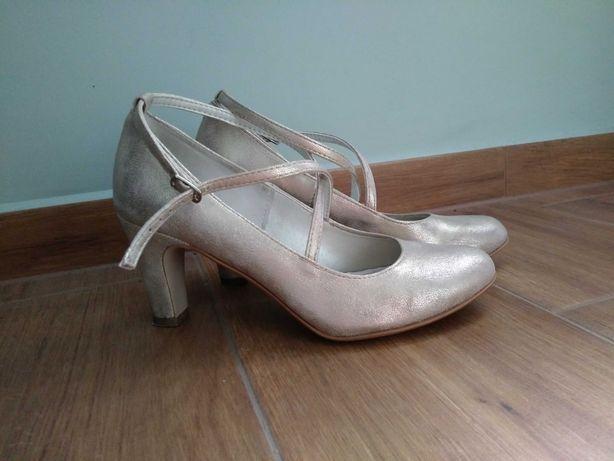 Buty ślubne skórzane Growikar r. 36