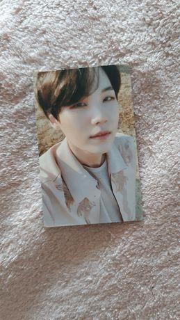 BTS photocard Yoongi