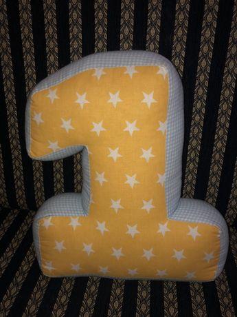 Единичка -подушка/ 1 на празднование годик