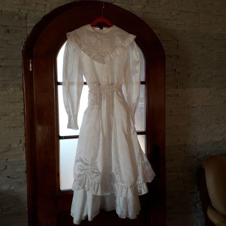 Sukienka biała na komunię, bal, karnawał. Roz 146
