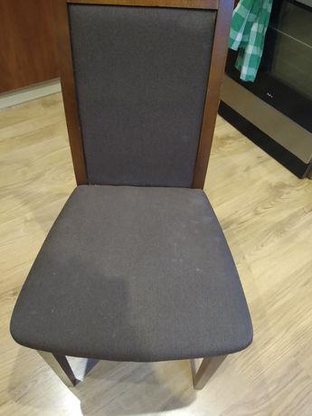 Krzesła ciemny brąz