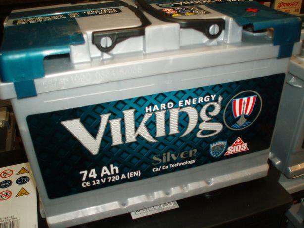 Akumulator 12V 74Ah Viking Silver Megatex nowy Kielce-dowóz gratis!!!