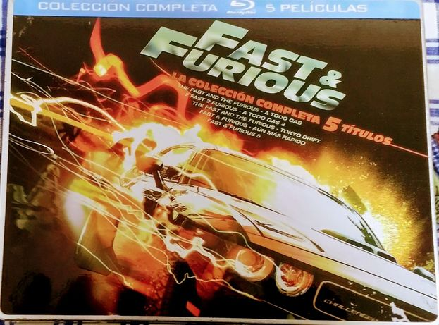 Blu-ray Velocidade Furiosa e Star Wars