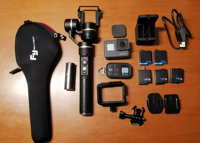 Kamera GoPro 6 Black + dodatki